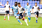 Bolton Wanderers forward Eddie Brown in action during the EFL Sky Bet League 1 match between Bolton Wanderers and Coventry City at the University of  Bolton Stadium, Bolton, England on 10 August 2019.