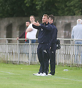 Dundee under 20s manager Eddie Johnston - North End v Dundee XI, pre season friendly at North End Park<br /> <br />  - &copy; David Young - www.davidyoungphoto.co.uk - email: davidyoungphoto@gmail.com