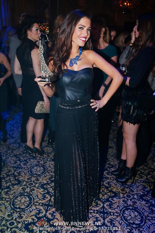 NLD/Amsterdam/20121112 - Beau Monde Awards 2012, Yolanthe Sneijder - Cabau van Kasbergen