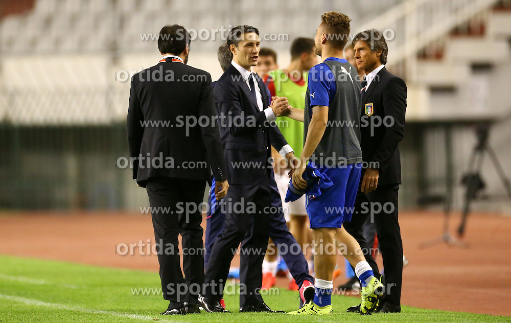 12.06.2015, Stadion Poljud, Split, CRO, UEFA Euro 2016 Qualifikation, Kroatien vs Italien, Gruppe H, im Bild Niko Kovac // during the UEFA EURO 2016 qualifier group H match between Croatia and and Italy at the Stadion Poljud in Split, Croatia on 2015/06/12. EXPA Pictures &copy; 2015, PhotoCredit: EXPA/ Pixsell/ Slavko Midzor<br /> <br /> *****ATTENTION - for AUT, SLO, SUI, SWE, ITA, FRA only*****