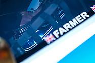 TF Sport Aston Martin Vantage GT3 driver Mark Farmer  during the British GT Championship at Snetterton Circuit. Photo: Jurek Biegus.