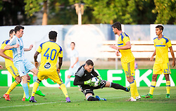 Predrag Rajkovic of Maccabi during 2nd Leg football match between ND Gorica and Maccabi Tel Aviv FC (ISR) in First Qualifying Round of UEFA Europa League 2016/17, on July 7, 2016 in Sports park Nova Gorica, Slovenia. Photo by Vid Ponikvar / Sportida