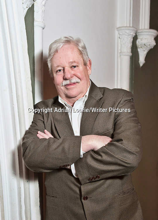 Armistead Maupin photographed at The Tabernacle in Notting Hill prior to his appearance at The Guardian Review Book Club<br /> <br /> Adrian Lourie/Writer Pictures<br /> WORLD RIGHTS