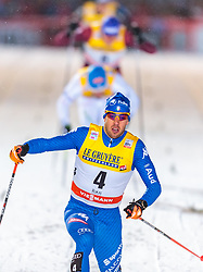 24.11.2017, Nordic Arena, Ruka, FIN, FIS Weltcup Langlauf, Nordic Opening, Kuusamo, im Bild Federico Pellegrino (ITA) // Federico Pellegrino of Italy during the FIS Cross Country World Cup of the Nordic Opening at the Nordic Arena in Ruka, Finland on 2017/11/24. EXPA Pictures © 2017, PhotoCredit: EXPA/ JFK
