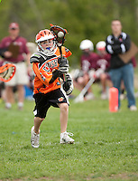 Lakes Region Lacrosse U13 boys versus Keene's Orange Crush May 11, 2012.