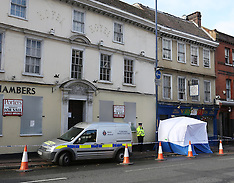 OCT 23 2013 Murder scene in Stone St Maidstone