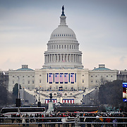 A festive spirit transformed Washington, DC as the city prepared for the 56th Presidential Inauguration.
