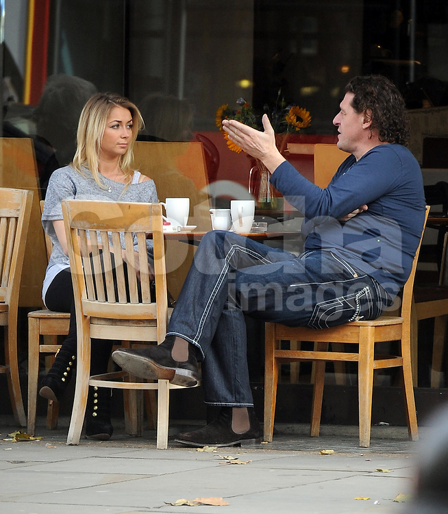 Marco Pierre White with his younger girlfriend Chloe Willoughby in ...