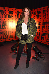 """Tricia Ronane at """"Hoping For Palestine"""" Benefit Concert For Palestinian Refugee Children held at The Roundhouse, Chalk Farm Road, England. 04 June 2018."""