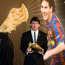 20101006: ESP, Football - Golden Boot 2010 for Lionel Messi