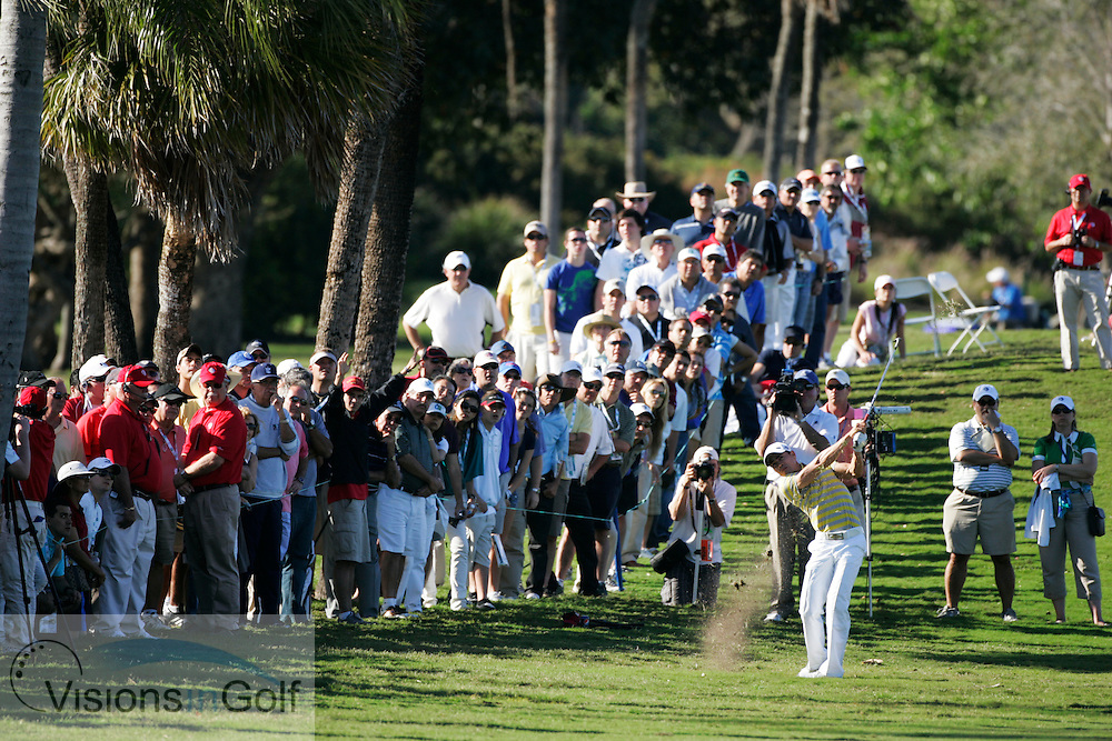 Camilo Villegas at the CA WGC Championship 2010, Doral, Miami, USA.  March 2010.<br /> Picture Credit: Mark Newcombe / visionsingolf.com