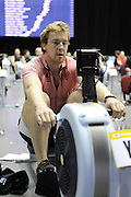 Birmingham, Great Britain. Men's open weight,  Tm BURTON, competes at the British Indoor Rowing Championships, National Indoor Arena, NIA,  Sun, 22.11.2009  [Mandatory Credit. Peter Spurrier/Intersport Images]