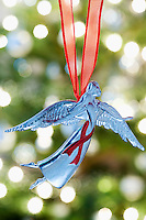 Angel Christmas decoration close-up