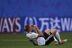 June 29, 2019 - Rennes, France - Alexandra Popp (Vfl Wolfsburg) of Germany look dejected at full-time after during the 2019 FIFA Women's World Cup France Quarter Final match between Germany and Sweden at Roazhon Park on June 29, 2019 in Rennes, France. (Credit Image: © Jose Breton/NurPhoto via ZUMA Press)
