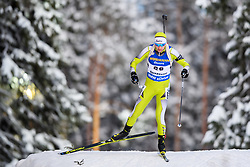 March 9, 2019 - –Stersund, Sweden - 190309 George Buta of Romania competes in the Men's 10 KM sprint during the IBU World Championships Biathlon on March 9, 2019 in Östersund..Photo: Petter Arvidson / BILDBYRÃ…N / kod PA / 92252 (Credit Image: © Petter Arvidson/Bildbyran via ZUMA Press)