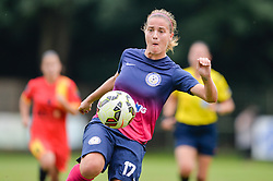 Anja Prsa of ZNK Pomurje during the UEFA Women's Champions League Qualifying Match between ZNK Teleing Pomurje (SLO) and Olimpia Cluj (ROU) at Sportni Park on August 16, 2015 in Beltinci, Slovenia. Photo by Mario Horvat / Sportida