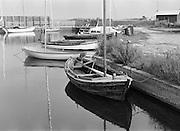 Den gamla hamnen i Vändburg på södra Gotland,