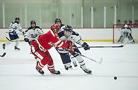 St Paul's School boys Hockey with Nobles.  ©2016 Karen Bobotas Photographer