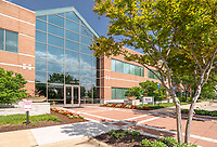 Architectural image of Dulles Tech 2 Office Building in Chantilly Virginia by Jeffrey Sauers of Commercial Photographics, Architectural Photo and Video Artistry