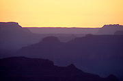 Sunset looking west from Moran Point, Grand Canyon National Park, Arizona...Subject photograph(s) are copyright Edward McCain. All rights are reserved except those specifically granted by Edward McCain in writing prior to publication...McCain Photography.211 S 4th Avenue.Tucson, AZ 85701-2103.(520) 623-1998.mobile: (520) 990-0999.fax: (520) 623-1190.http://www.mccainphoto.com.edward@mccainphoto.com.