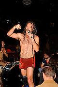 Monotonix performs at Brooklyn Bowl, Brooklyn, NY. April 14, 2010. Copyright © 2010 Matt Eisman. All Rights Reserved.