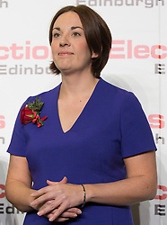 Scottish Parliament Election 2016 Royal Highland Centre Ingliston Edinburgh 05 May 2016; Kezia Dugdale (Scottish Labour Party leader) hears the bad news as she loses her seat during the Scottish Parliament Election 2016, Royal Highland Centre, Ingliston Edinburgh.<br /> <br /> (c) Chris McCluskie | Edinburgh Elite media