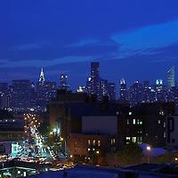 New York City skyline, NYC