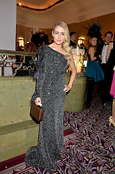 STEFANIE RYCRAFT JONES wearing Ji Cheng at the WGSN Global Fashion Awards 2015 held at The Park Lane Hotel, Piccadilly, London on 14th May 2015.