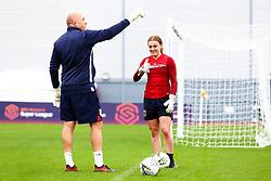Sophie Baggaley of Bristol City prior to kick off - Mandatory by-line: Ryan Hiscott/JMP - 14/10/2018 - FOOTBALL - Stoke Gifford Stadium - Bristol, England - Bristol City Women v Birmingham City Women - FA Women's Super League 1