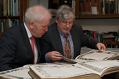 Jimmy Deenihan TD, Minister for Arts, Heritage and the Gaeltacht, at National Museum of Ireland rece