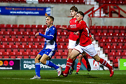 Kieran Phillips of Bristol Rovers scores a goal to make it 3-1 - Mandatory by-line: Robbie Stephenson/JMP - 29/10/2019 - FOOTBALL - County Ground - Swindon, England - Swindon Town v Bristol Rovers - FA Youth Cup Round One