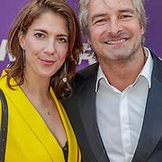 NLD/Amsterdam/20190415 - Filmpremiere première Baantjer het Begin, victor Reinier en partner Aimee Kiene