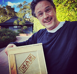 """David Arquette releases a photo on Twitter with the following caption: """"""""I can't wait to open my @mancrates !!!"""""""". Photo Credit: Twitter *** No USA Distribution *** For Editorial Use Only *** Not to be Published in Books or Photo Books ***  Please note: Fees charged by the agency are for the agency's services only, and do not, nor are they intended to, convey to the user any ownership of Copyright or License in the material. The agency does not claim any ownership including but not limited to Copyright or License in the attached material. By publishing this material you expressly agree to indemnify and to hold the agency and its directors, shareholders and employees harmless from any loss, claims, damages, demands, expenses (including legal fees), or any causes of action or allegation against the agency arising out of or connected in any way with publication of the material."""