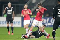 Guus Til of AZ Alkmaar, Mohamed El Hankouri of Willem II