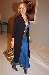 LAURA BAILEY at the Moet & Chandon Fashion Tribute 2005 to Matthew Williamson, held at Old Billingsgate, City of London on 16th February 2005.<br /><br />NON EXCLUSIVE - WORLD RIGHTS