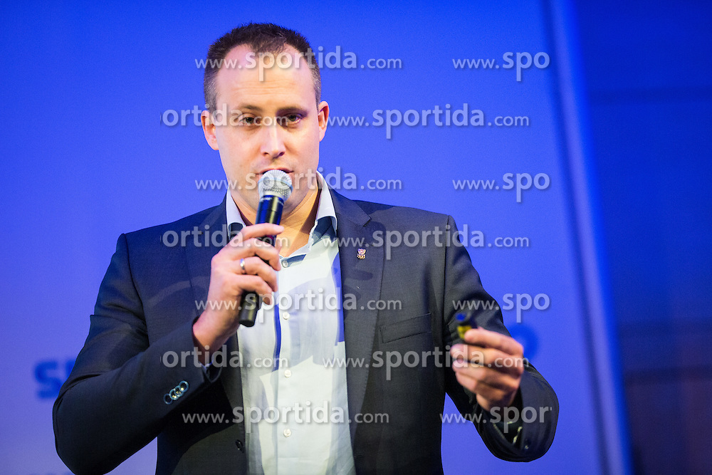 Florian Gosch (Austria olympic committee) during Sports marketing and sponsorship conference Sporto 2015, on November 20, 2015 in Hotel Slovenija, Congress centre, Portoroz / Portorose, Slovenia. Photo by Ziga Zupan / Sportida