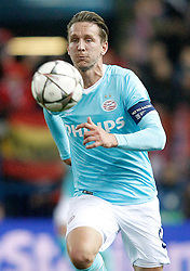 15-03-2016 ESP, UEFA CL, Atletico Madrid - PSV Eindhoven, Madrid<br /> PSV Eindhoven's Luuk de Jong // during the UEFA Champions League Round of 16, 2nd Leg match between Atletico Madrid and PSV Eindhoven at the Estadio Vicente Calderon in Madrid, Spain on 2016/03/15. <br /> <br /> ***NETHERLANDS ONLY***