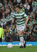 Celtic's Darren O'Dea during the League Cup final between Rangers and Celtic at Hampden Park -<br /> David Young Universal News And Sport