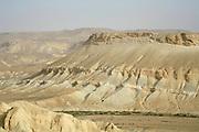 sand dunes sede boker desert, israel