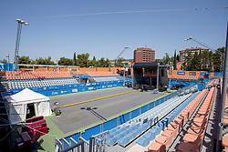 Center court at ATP Challenger Zavarovalnica Sava Slovenia Open 2017, on August 4, 2017 in Sports centre, Portoroz/Portorose, Slovenia. Photo by Urban Urbanc / Sportida