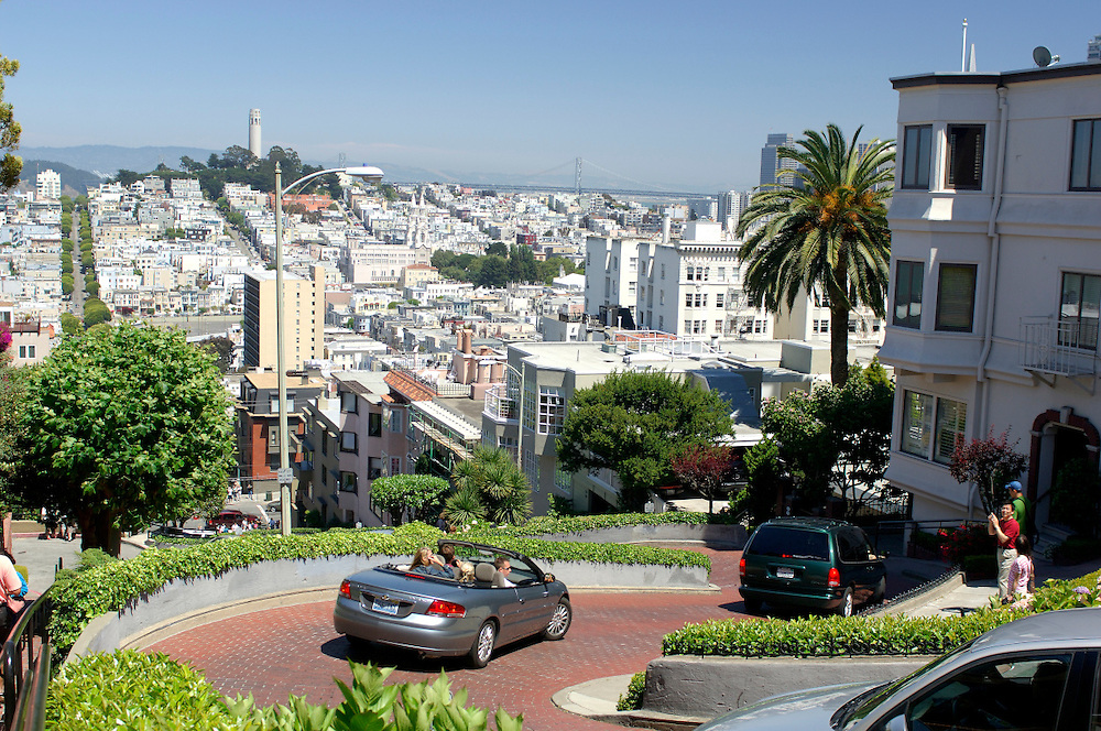 Lombard Street, San Francisco, California, United States of America