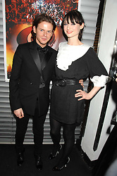 CHRISTOPHER KANE and singer SOPHIE ELLIS-BEXTOR at a Burns Night party hosted by designer Christoper Kane at Harvey Nichols, Knightsbridge, London on 25th January 2008 in association with VisitScotland to promote Edinburgh & Glasgow City Breaks.<br />