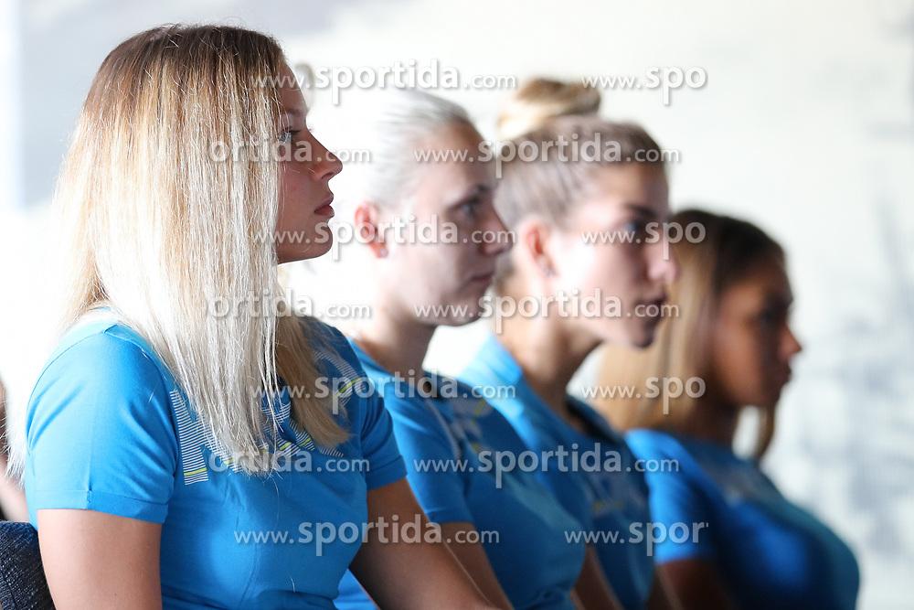 at press conference of RK Krim before new season 2017/18, on August 16, 2017 in SRC Stozice, Ljubljana, Slovenia. Photo by Matic Klansek Velej / Sportida