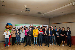 Bronze awards athletes during Slovenian Disabled Sports personality of the year 2019 event, on January 21, 2020 in Austria Trend Hotel, Ljubljana, Slovenia. Photo by Vid Ponikvar / Sportida