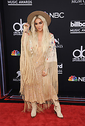 Kesha at the 2018 Billboard Music Awards held at the MGM Grand Garden Arena in Las Vegas, USA on May 20, 2018.