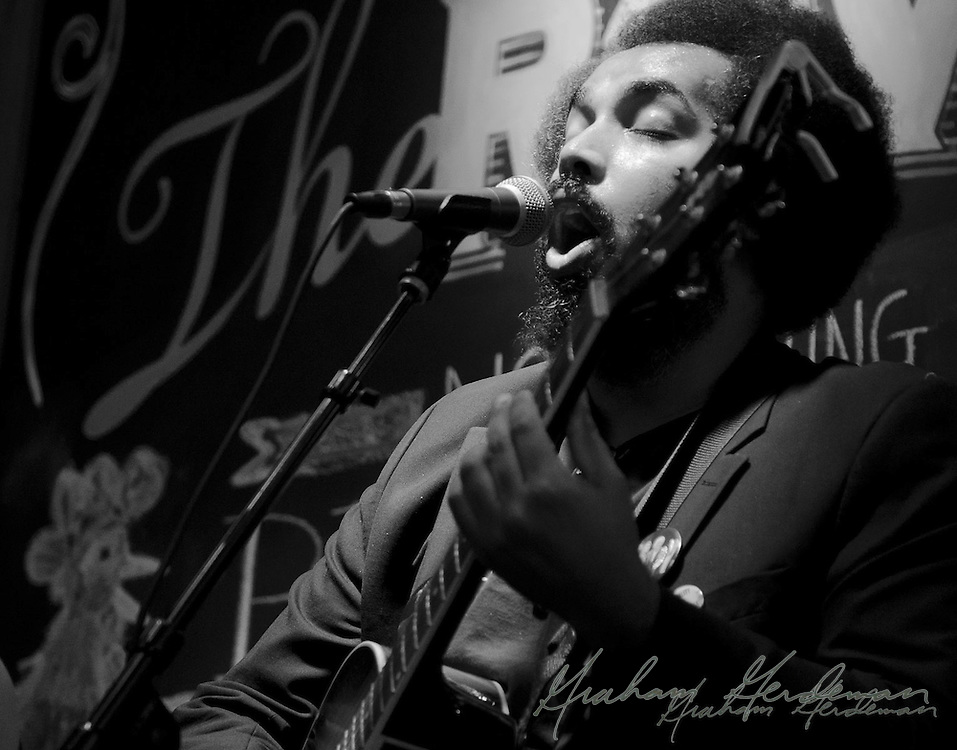 Eclectic folk-rock duo Withward perform at The Row in Nashville, TN