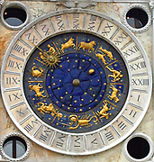 St Mark's Astrological Clock is housed in the St Mark's Clock tower, on St Mark's Square in Venice. The first clock housed in the tower was built and installed by Gian Paulo and Gian Carlo Rainieri, father and son, between 1496 and 1499