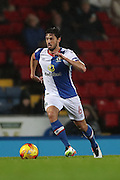 Blackburn Rovers midfielder, Jason Lowe (6) during the EFL Sky Bet Championship match between Blackburn Rovers and Brighton and Hove Albion at Ewood Park, Blackburn, England on 13 December 2016.