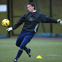 St Johnstone training...26.12.03<br />