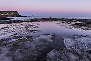 Sunset at Curio Bay, Catlins, New Zealand